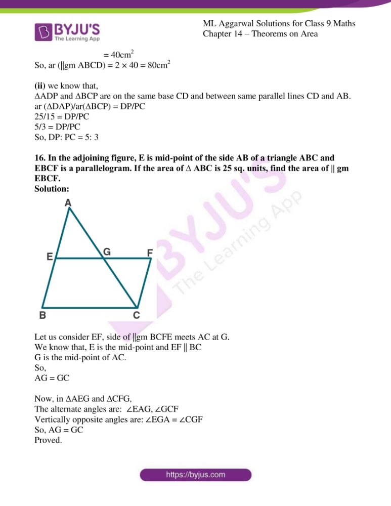 ml aggarwal solutions for class 9 maths chapter 14 26