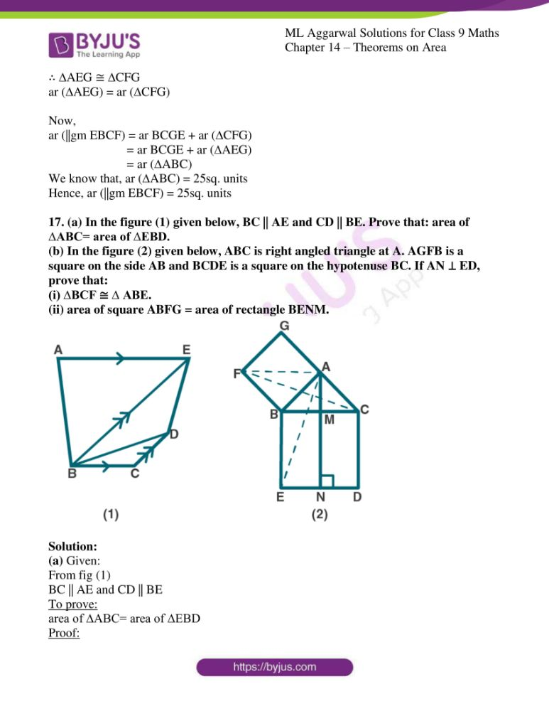 ml aggarwal solutions for class 9 maths chapter 14 27
