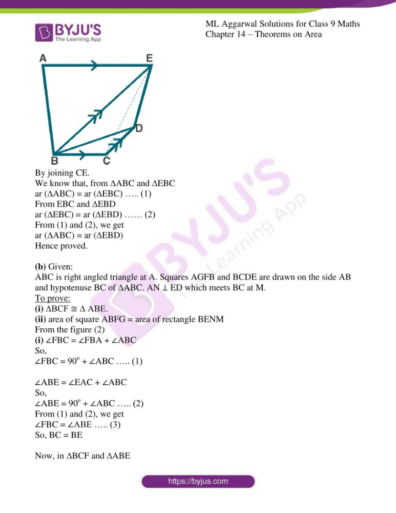 ml aggarwal solutions for class 9 maths chapter 14 28