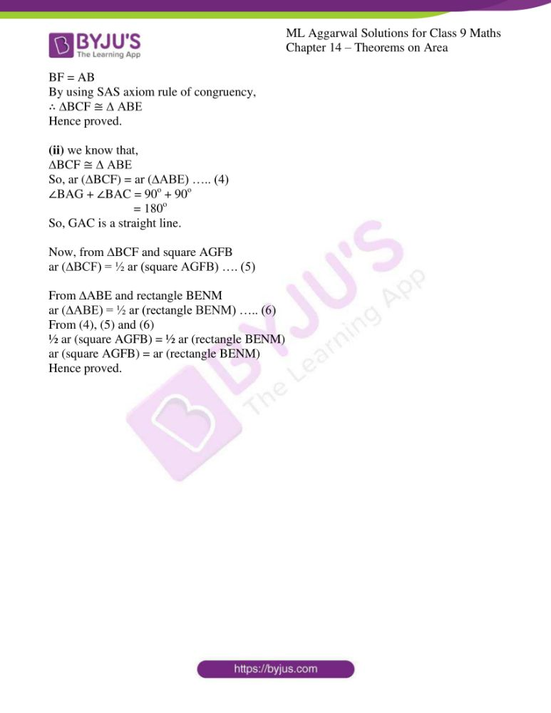 ml aggarwal solutions for class 9 maths chapter 14 29