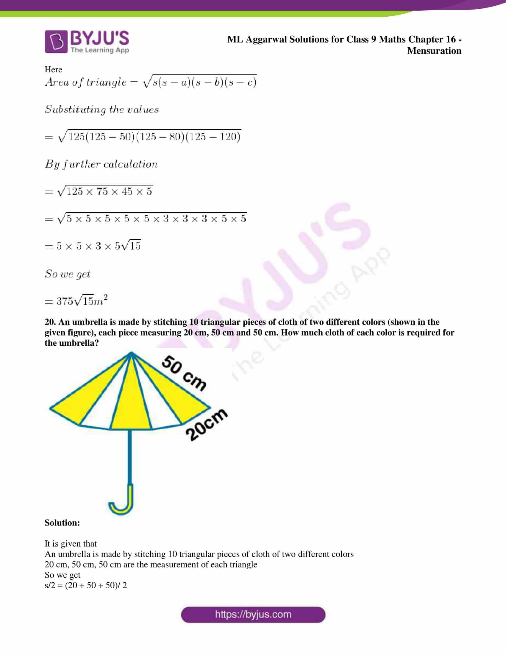 ml aggarwal solutions for class 9 maths chapter 16 019