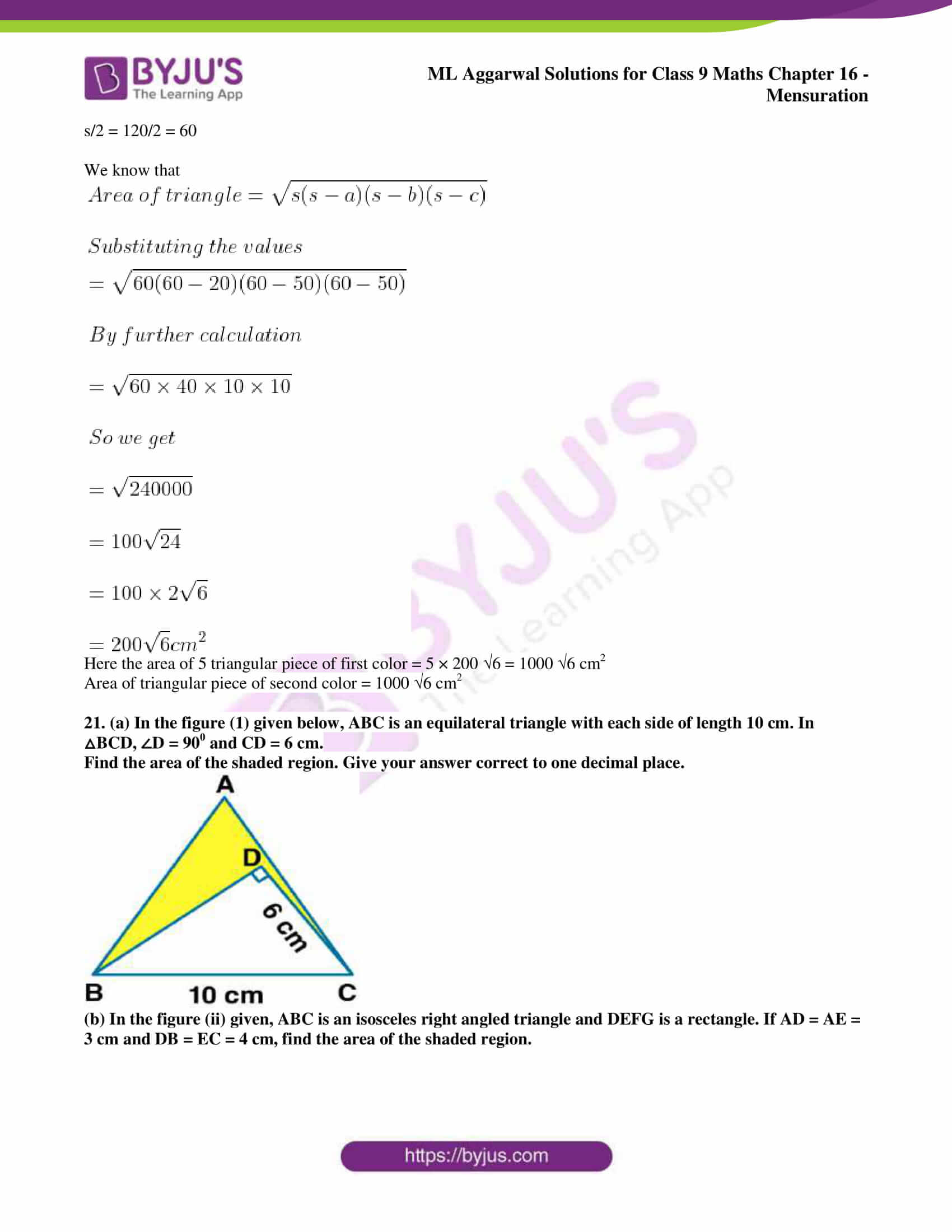 ml aggarwal solutions for class 9 maths chapter 16 020