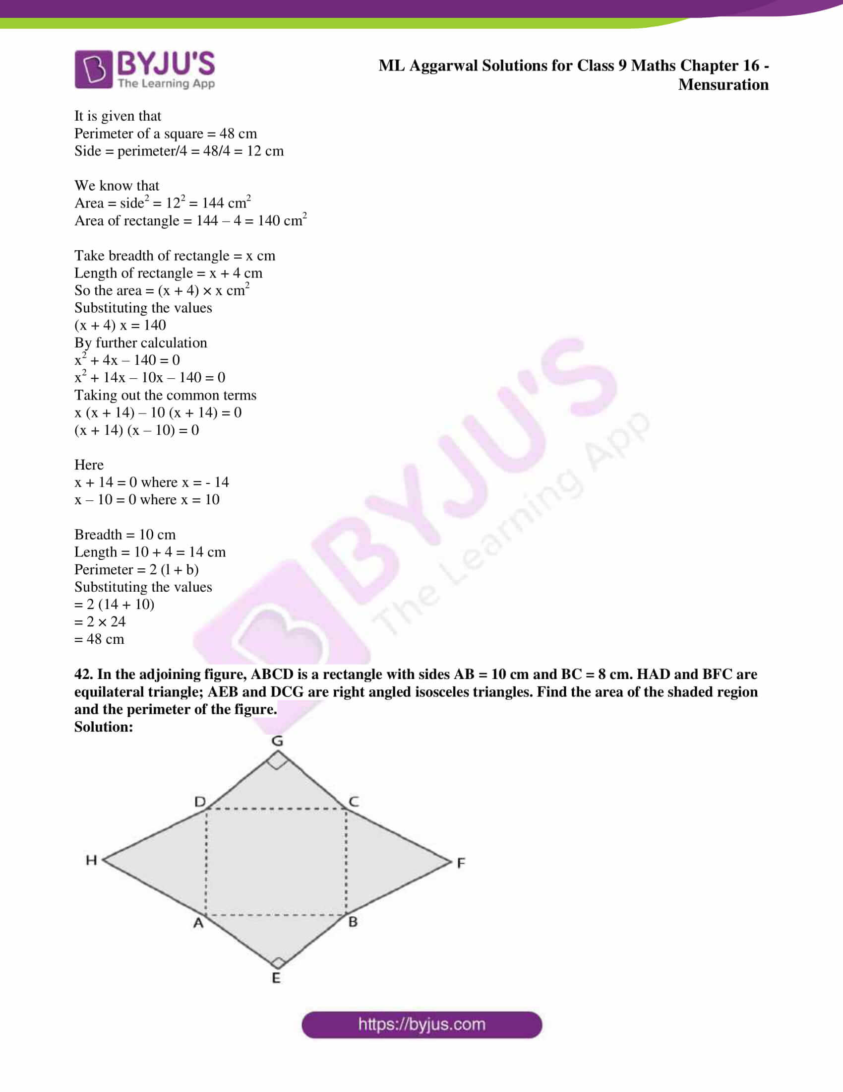 ml aggarwal solutions for class 9 maths chapter 16 063