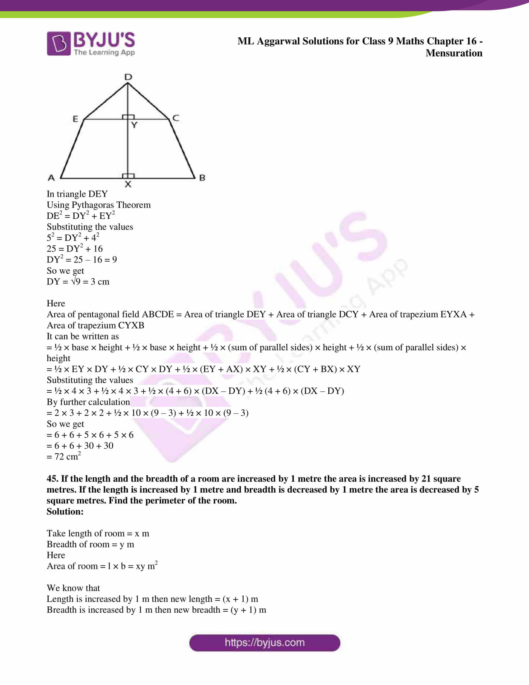 ml aggarwal solutions for class 9 maths chapter 16 069