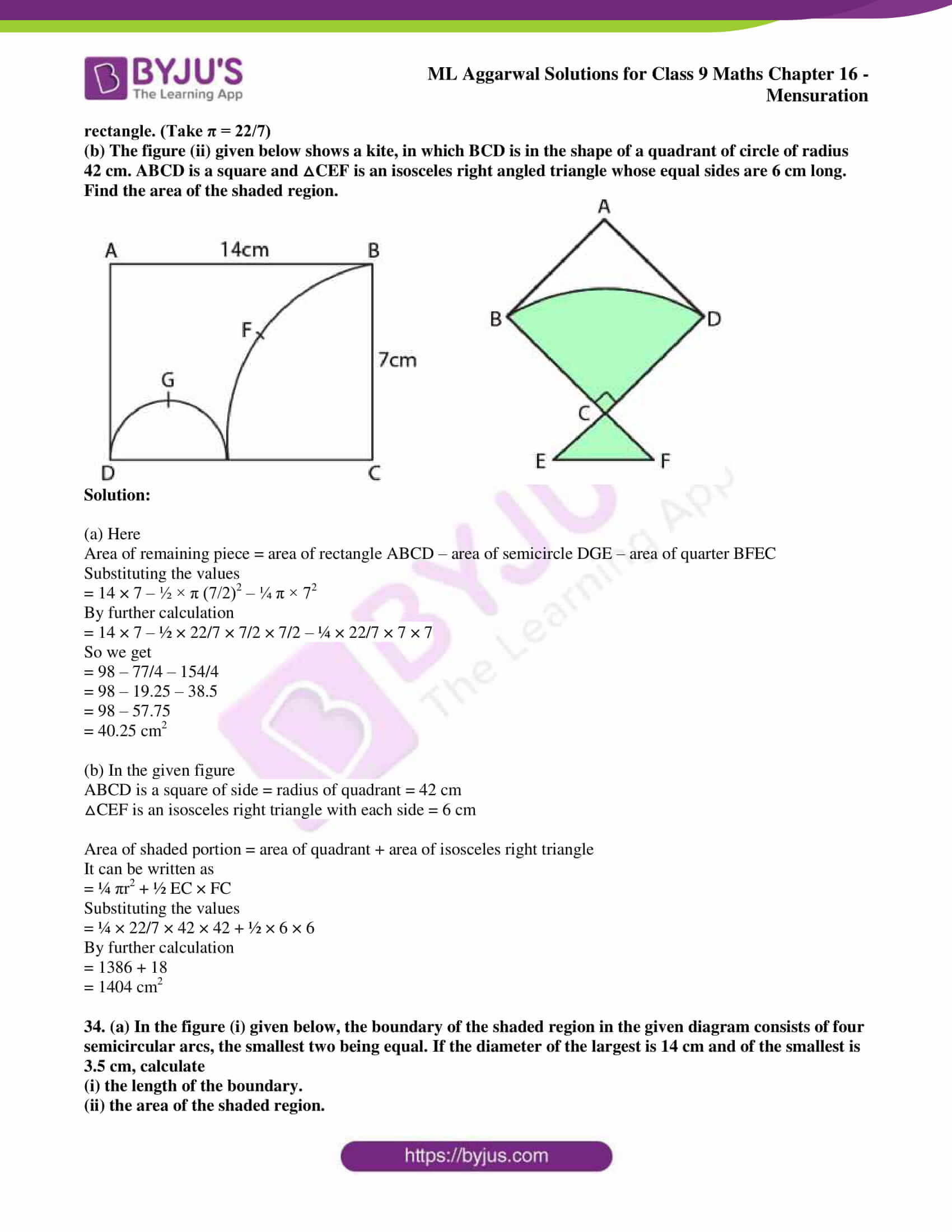 ml aggarwal solutions for class 9 maths chapter 16 107