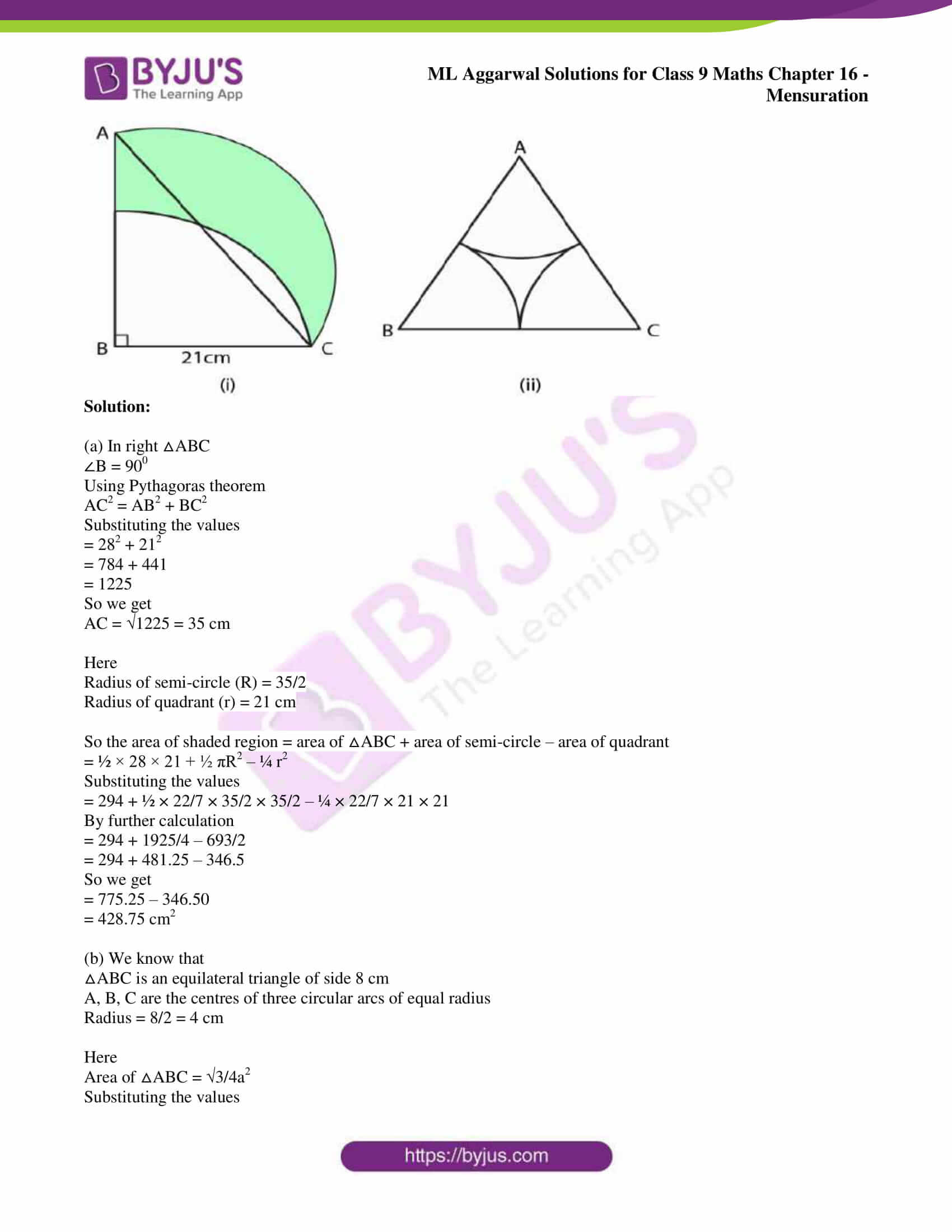 ml aggarwal solutions for class 9 maths chapter 16 110