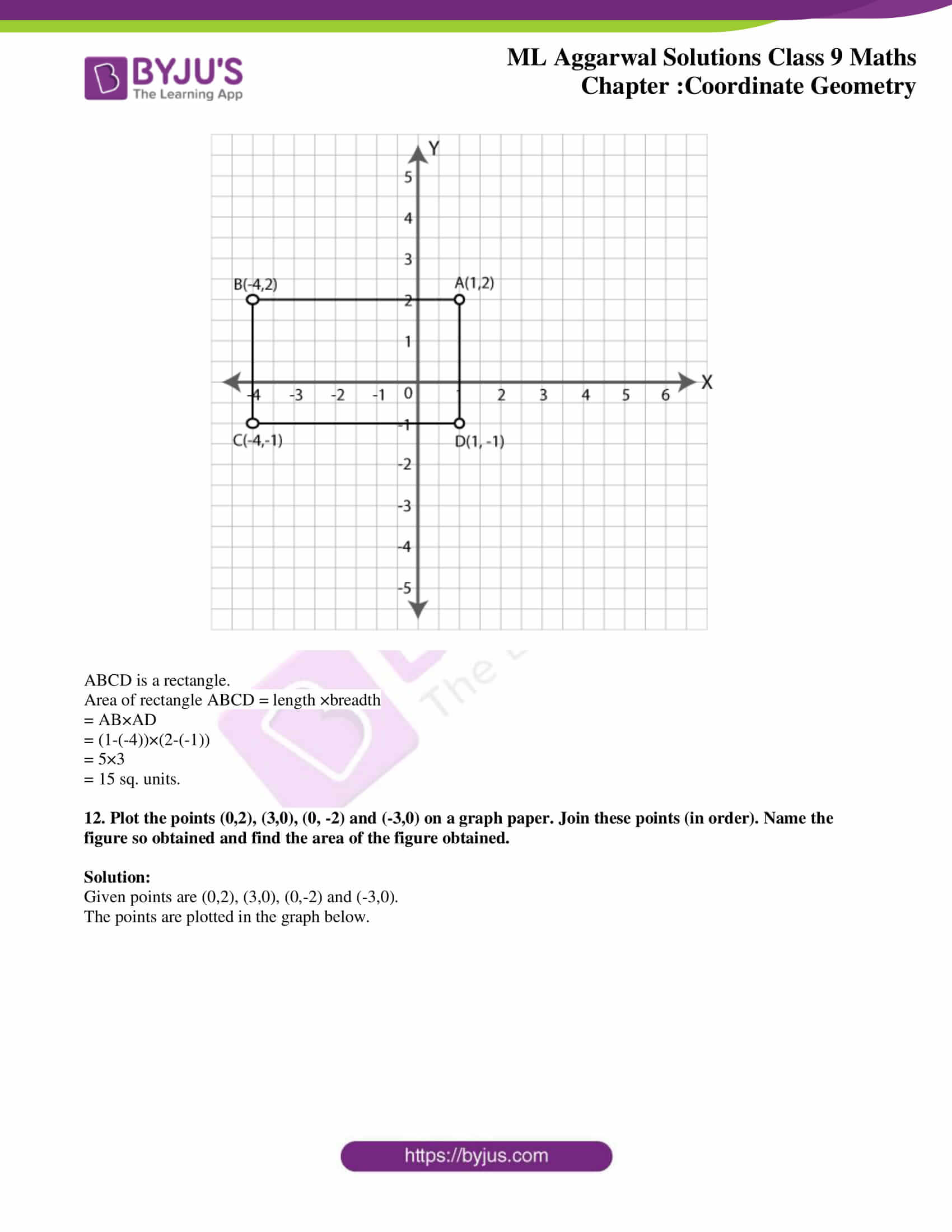 ml aggarwal solutions for class 9 maths chapter 19 10