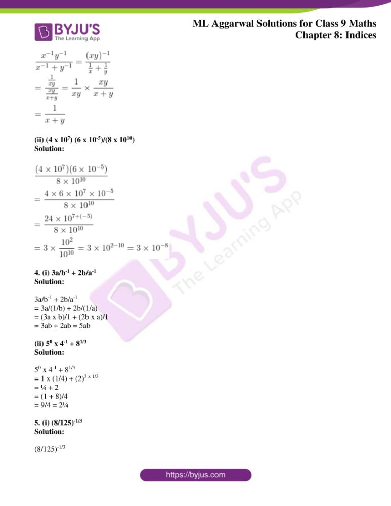 ml aggarwal solutions for class 9 maths chapter 8 2