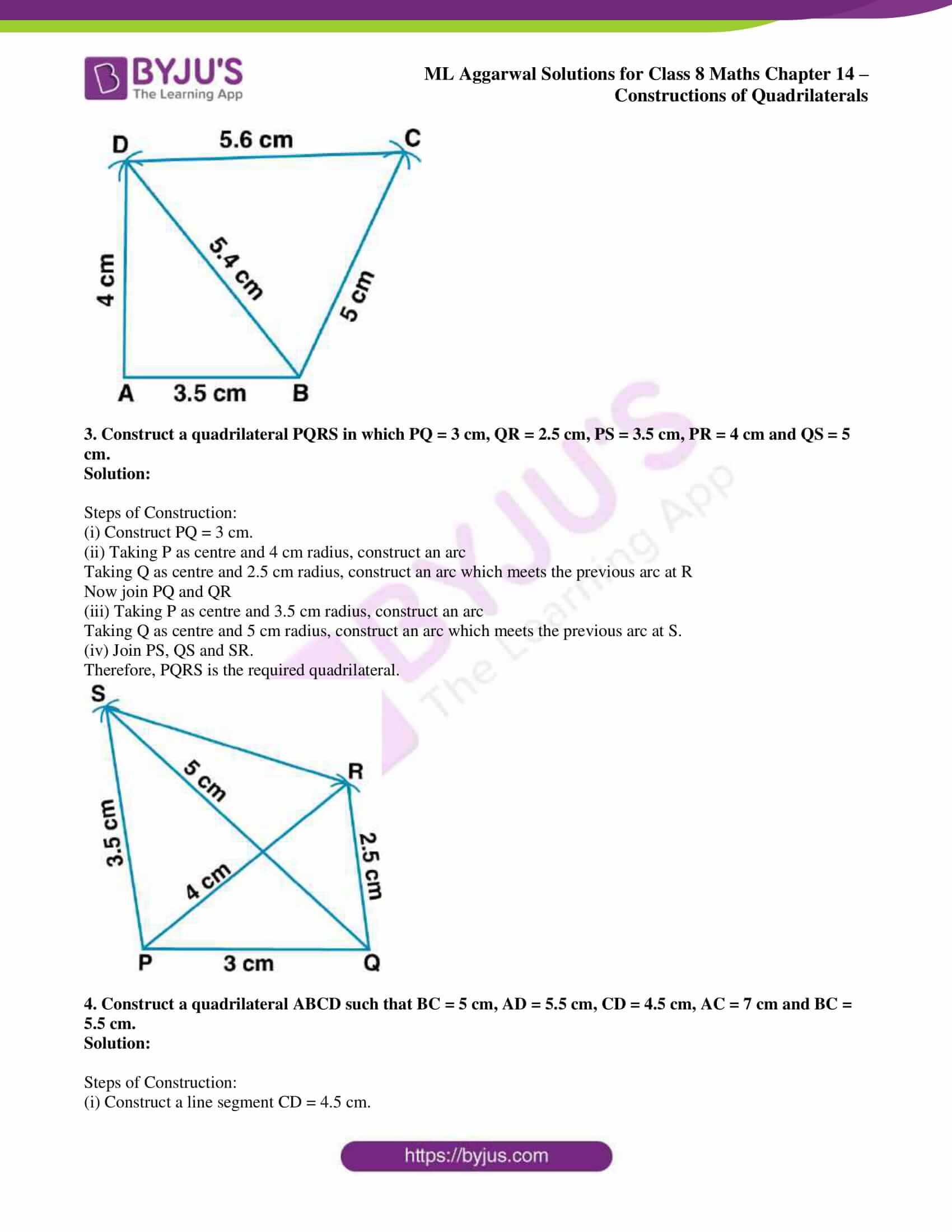 ml aggarwal sol class 7 maths chapter 14 2