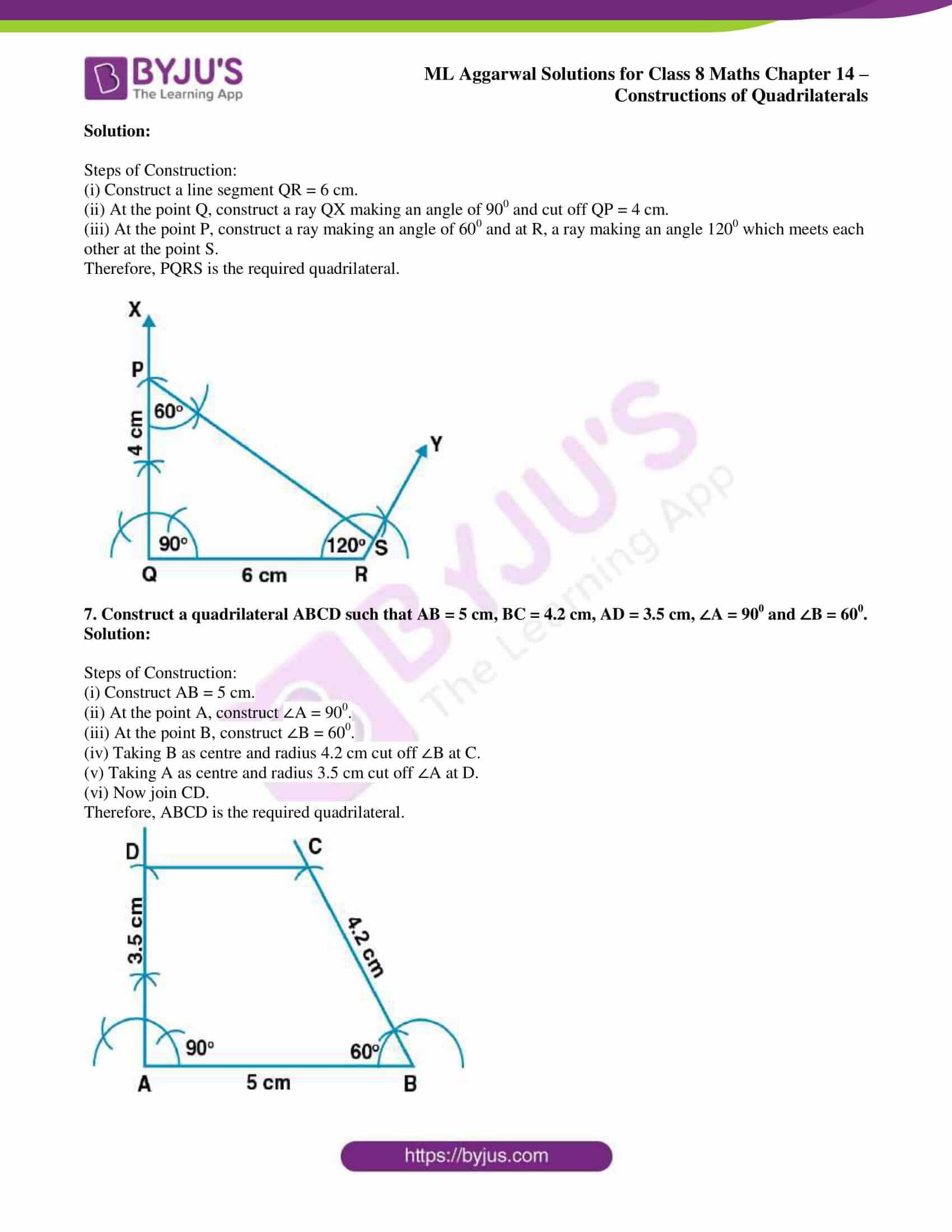 ml aggarwal sol class 7 maths chapter 14 4