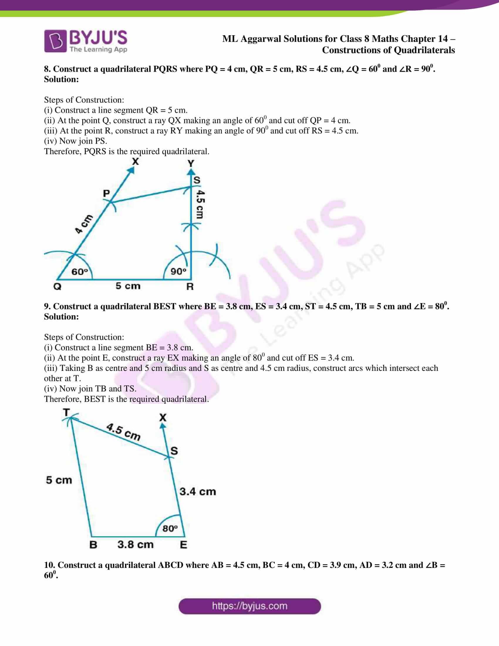 ml aggarwal sol class 7 maths chapter 14 5