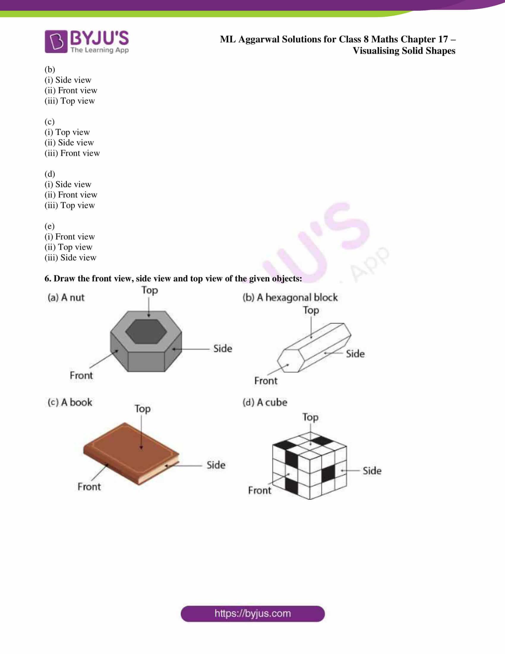 ml aggarwal sol class 7 maths chapter 17 8