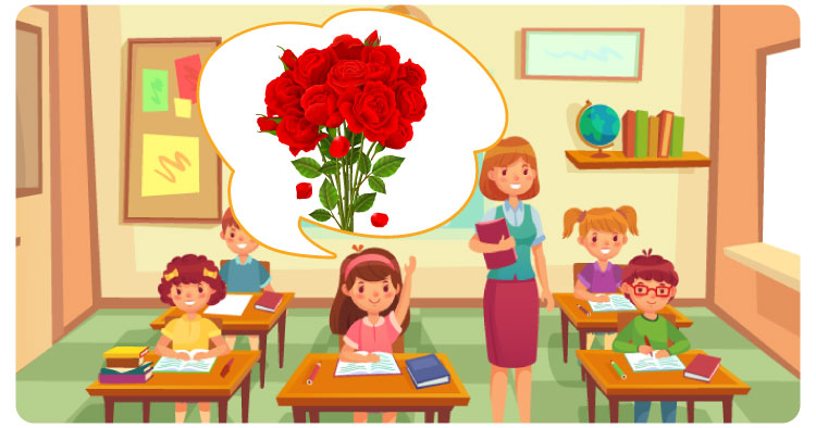 My Favourite Flower Rose Essay For Class 1