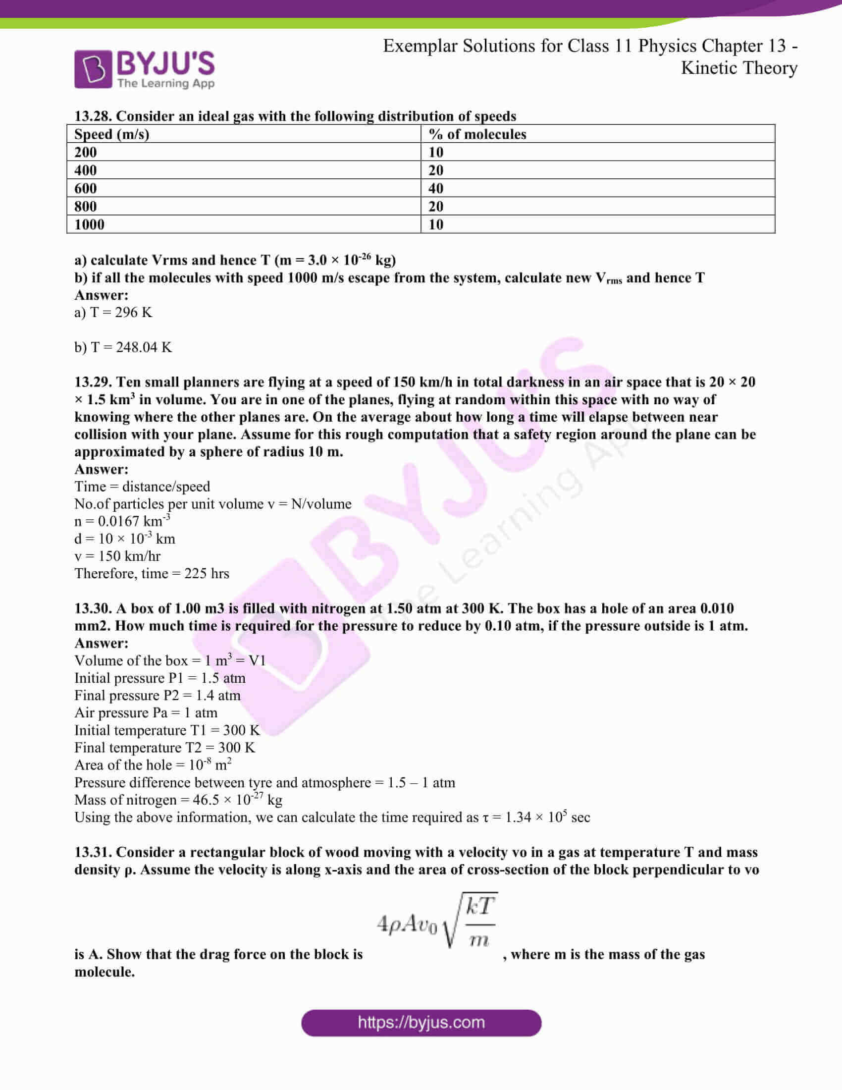 ncert exemplar for class 11 phy chapter 13 10