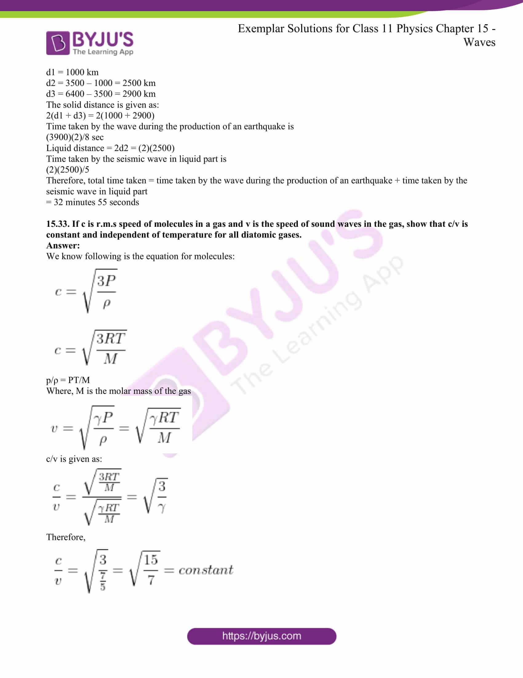 ncert exemplar for class 11 phy chapter 15 18