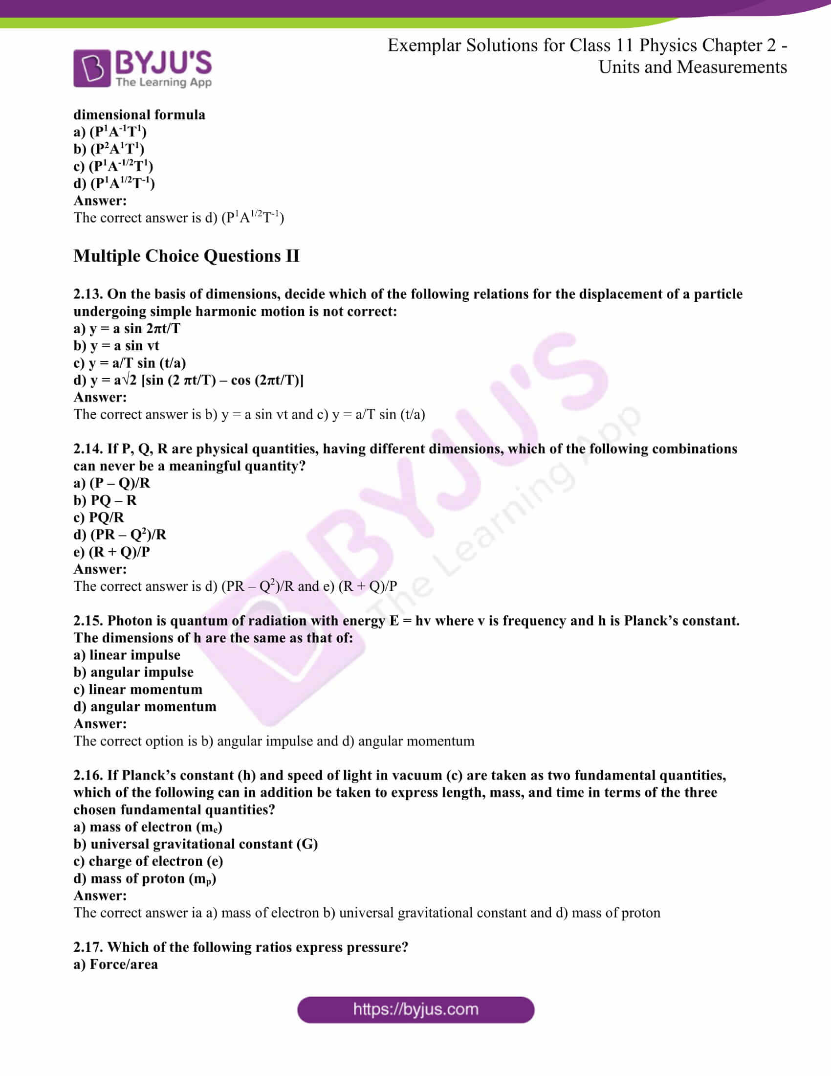 ncert exemplar for class 11 phy chapter 2 03