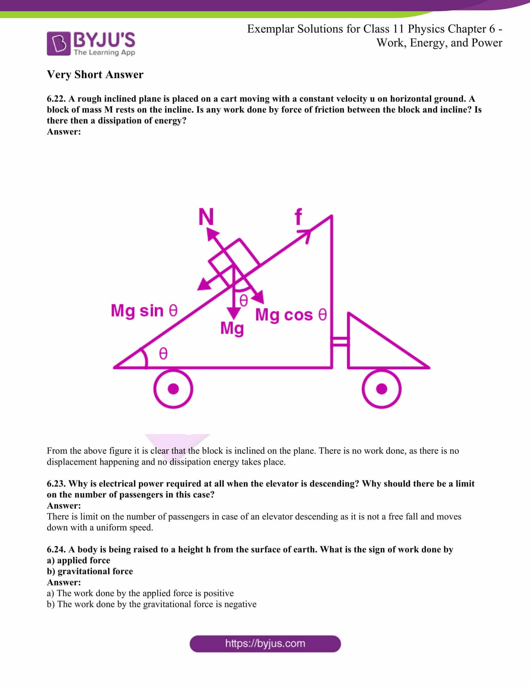 ncert exemplar for class 11 phy chapter 6 14