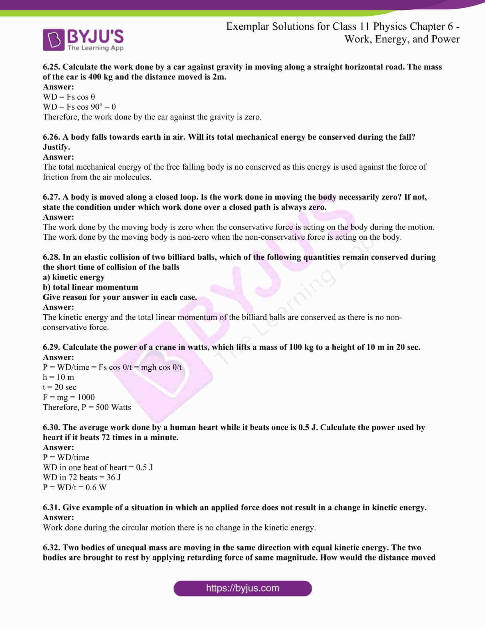 ncert exemplar for class 11 phy chapter 6 15