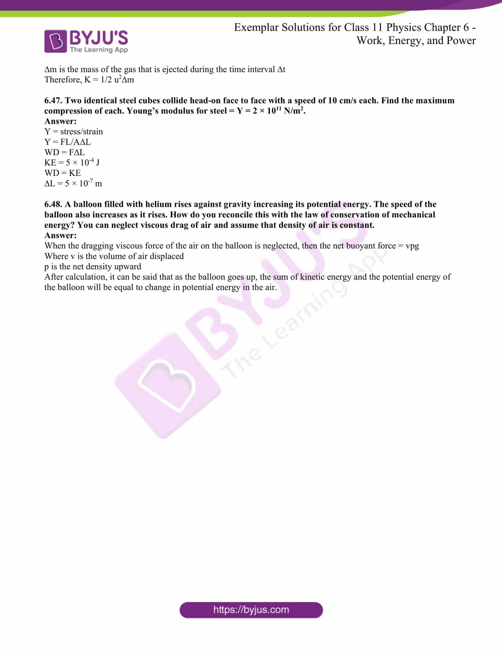 ncert exemplar for class 11 phy chapter 6 24