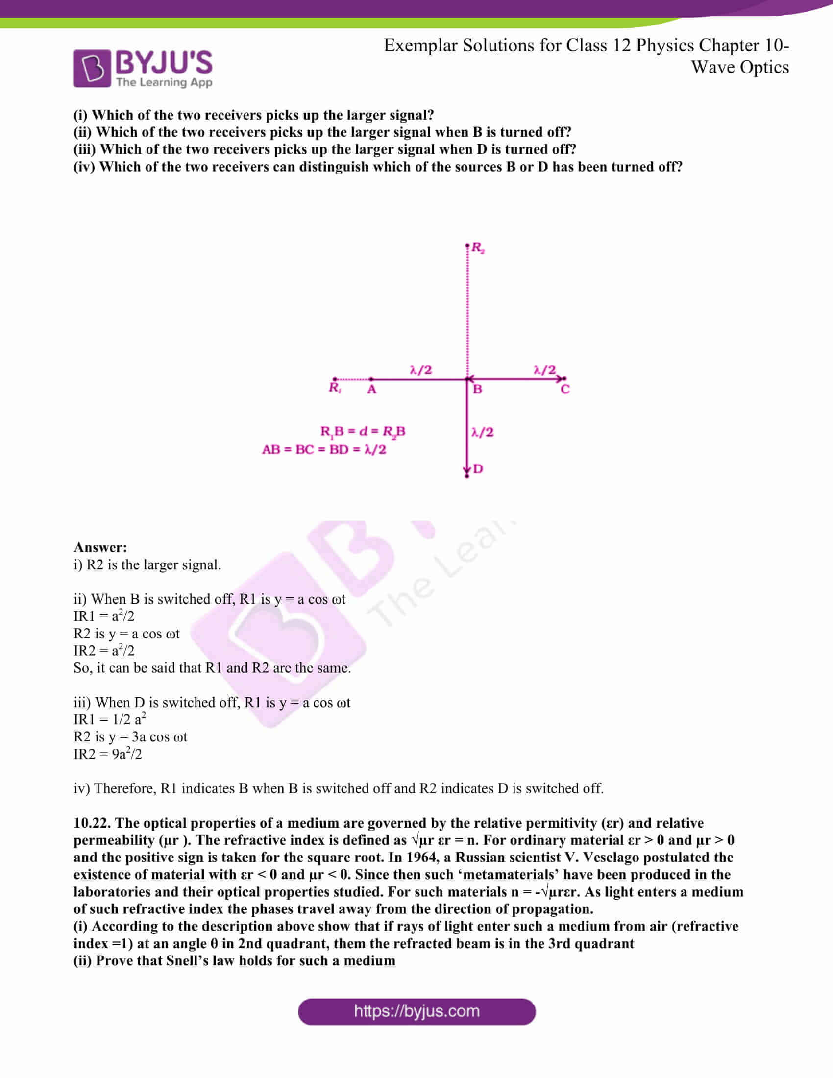 ncert exemplar for class 12 phy chapter 10 13