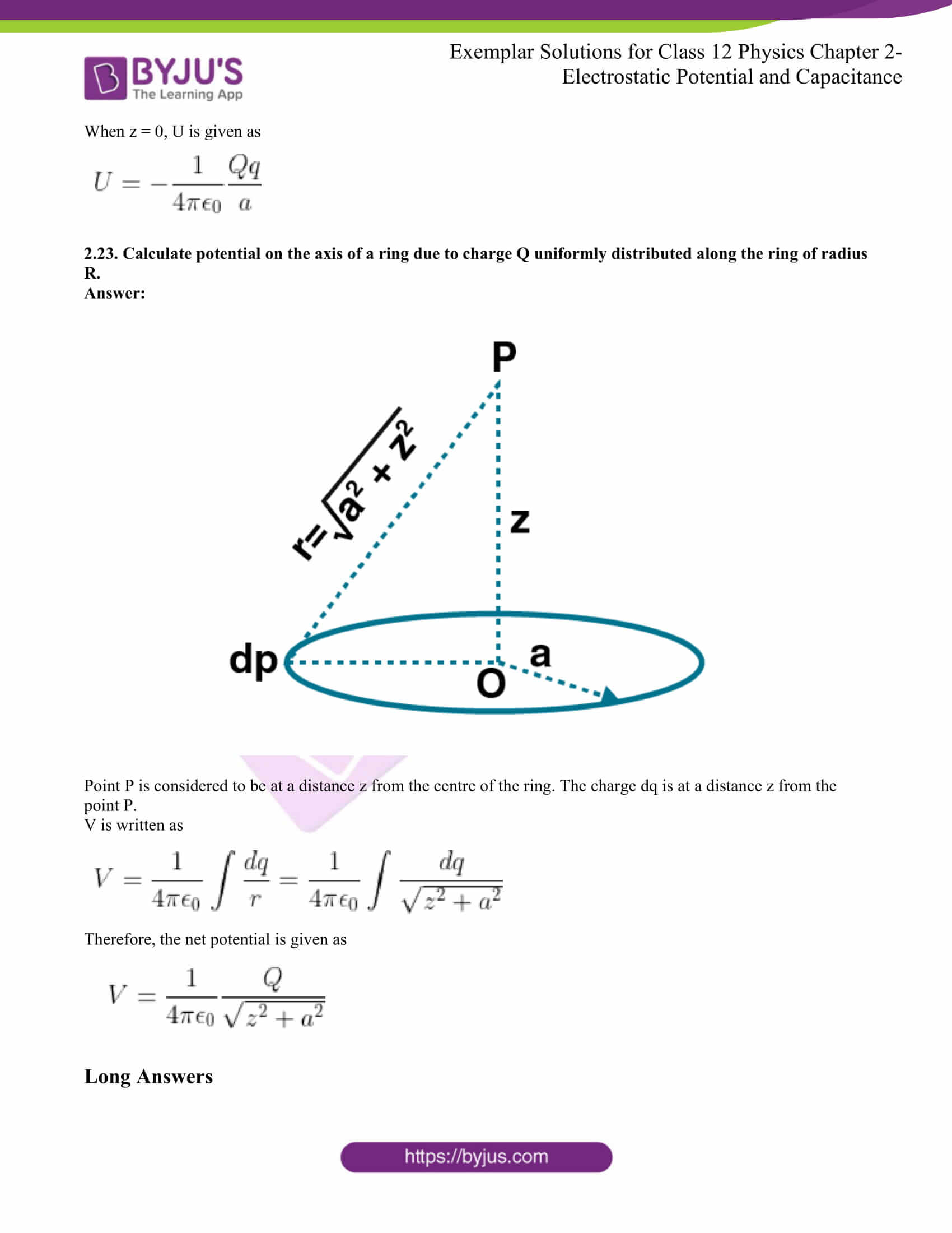ncert exemplar for class 12 phy chapter 2 11