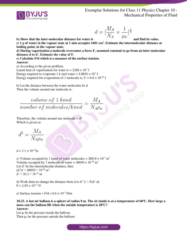 ncert exemplar solutions for class 11 physics chapt 10 13