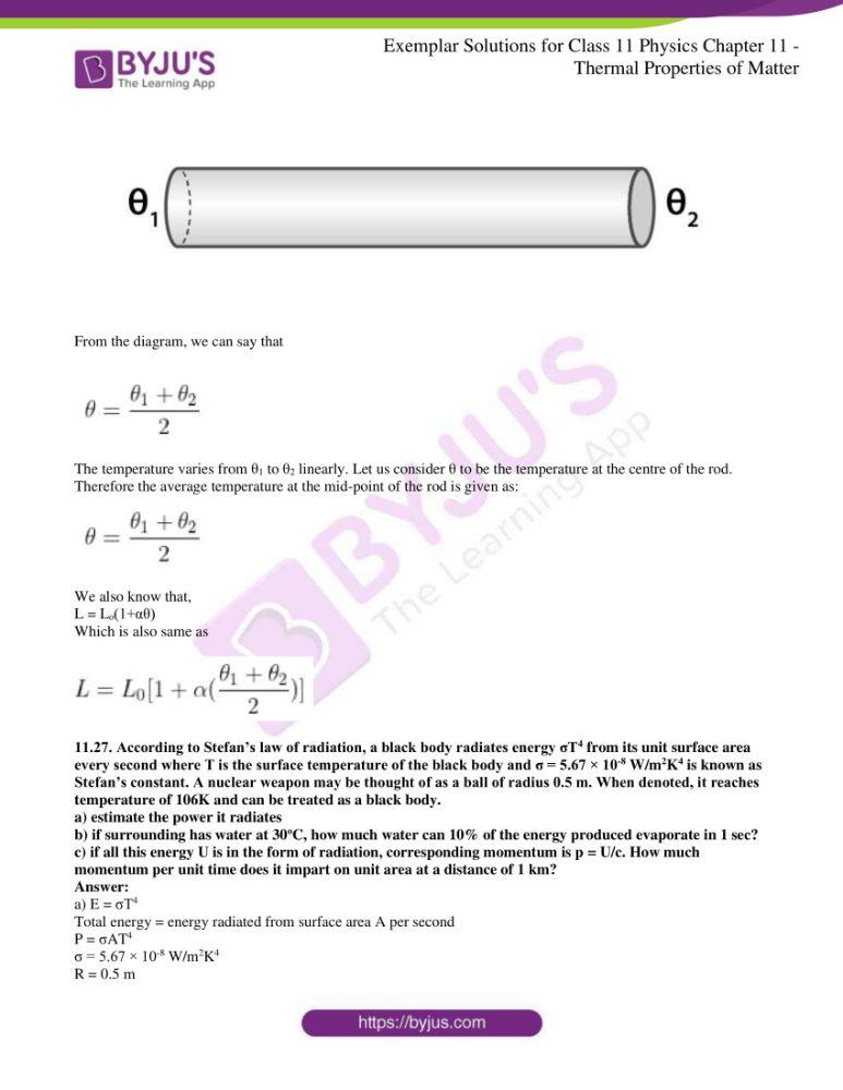 ncert exemplar solutions for class 11 physics chapt 11 15