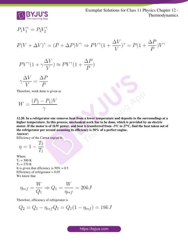 ncert exemplar solutions for class 11 physics chapt 12 11