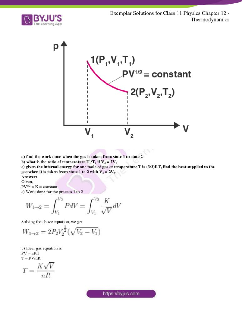 ncert exemplar solutions for class 11 physics chapt 12 14