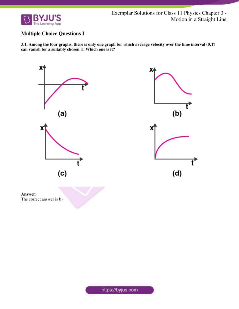 ncert exemplar solutions for class 11 physics chapt 3 01