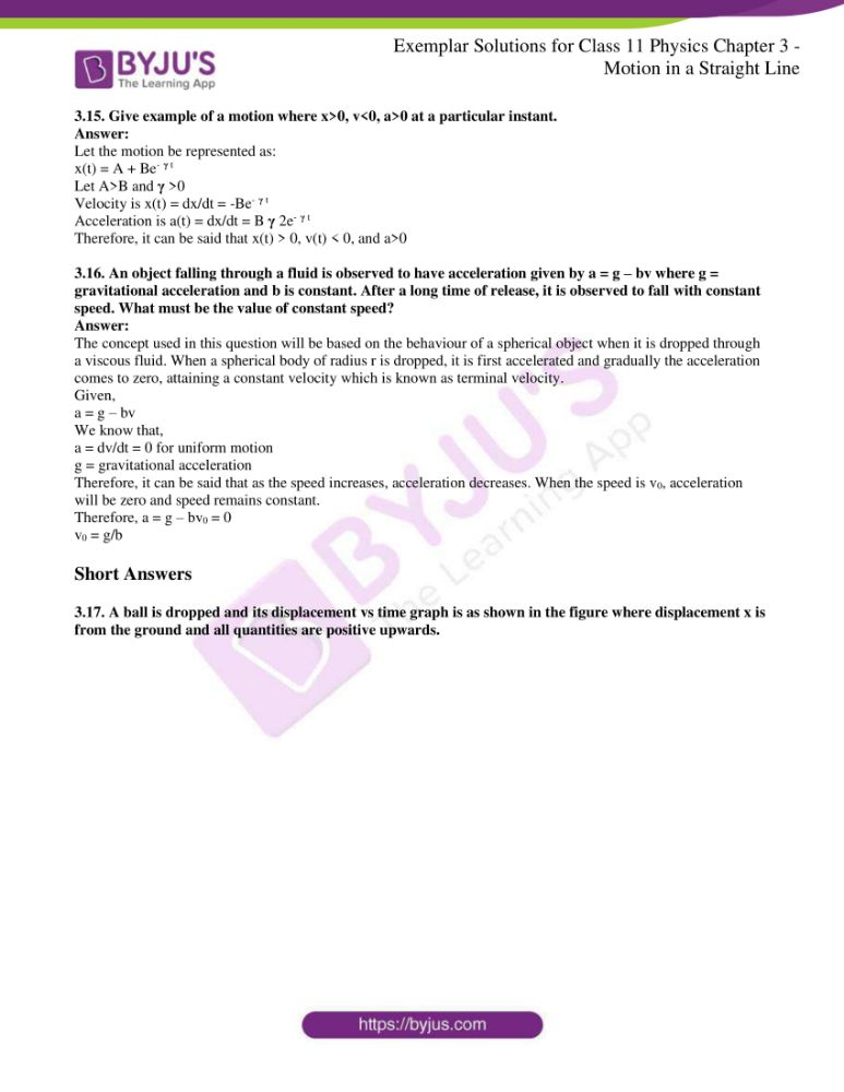 ncert exemplar solutions for class 11 physics chapt 3 09