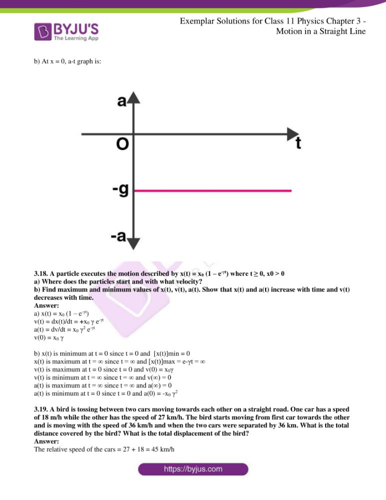 ncert exemplar solutions for class 11 physics chapt 3 11