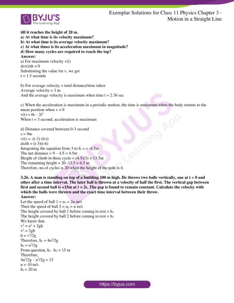ncert exemplar solutions for class 11 physics chapt 3 17