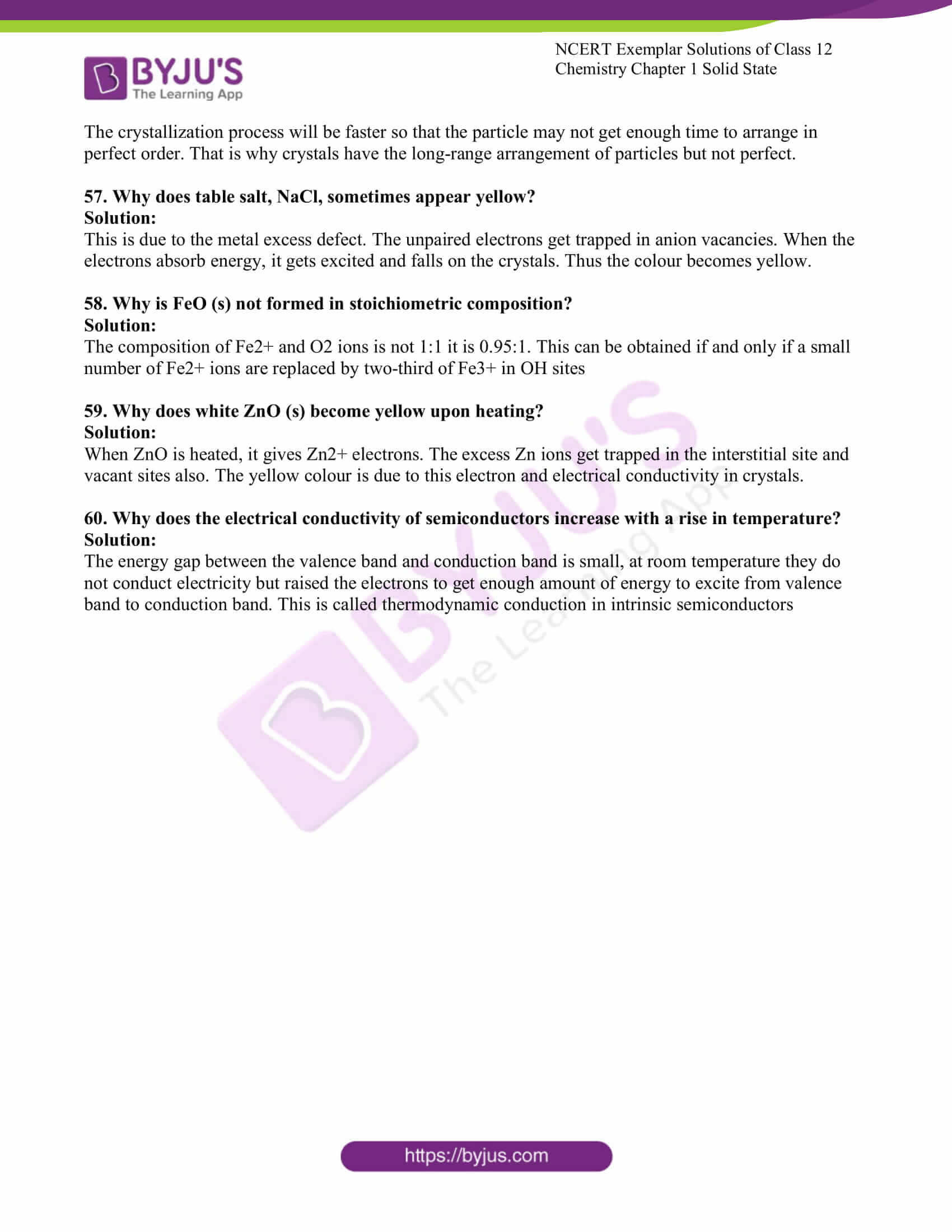 ncert exemplar solutions for class 12 chemistry chapter 1 solid 13