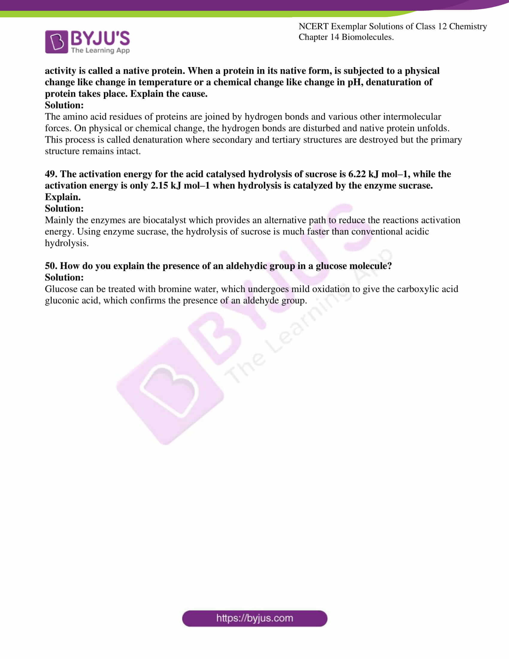 ncert exemplar solutions for class 12 chemistry chapter 14 12