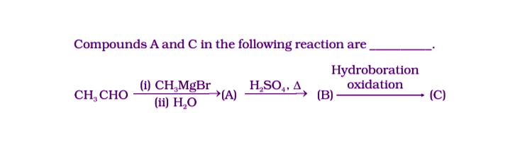 NCERT Exemplar Solutions of Class 12 Chemistry Chapter 12 Aldehydes, Ketones and Carboxylic Acids-8
