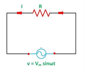 Purely resistive circuit