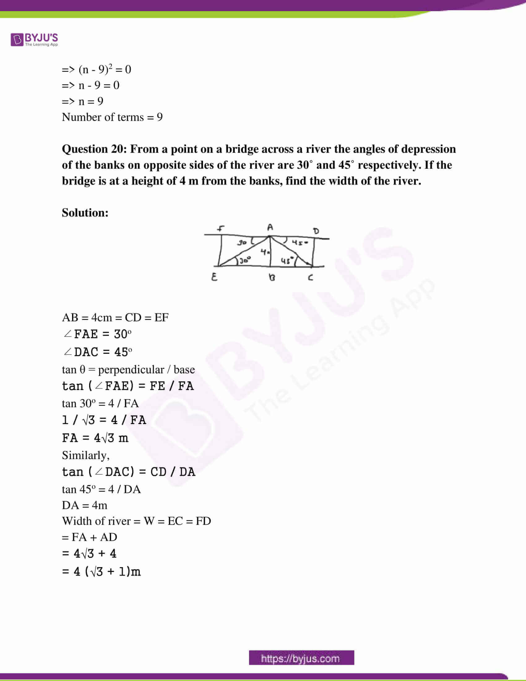 rajasthan board class 10 examination question paper sol march 2015 10