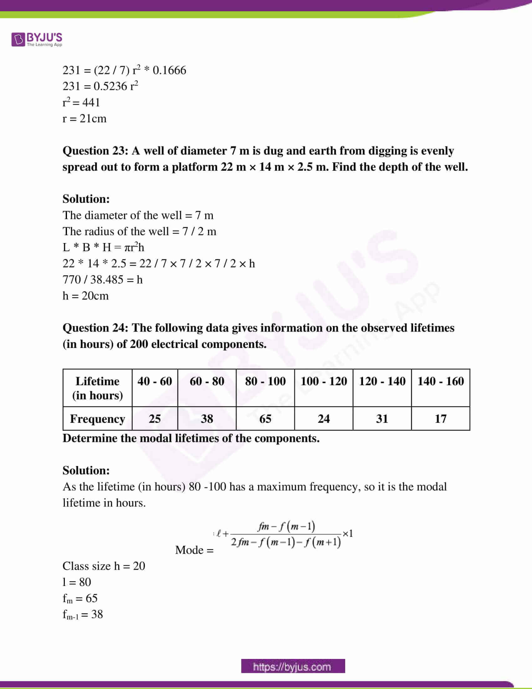 rajasthan board class 10 examination question paper sol march 2017 13