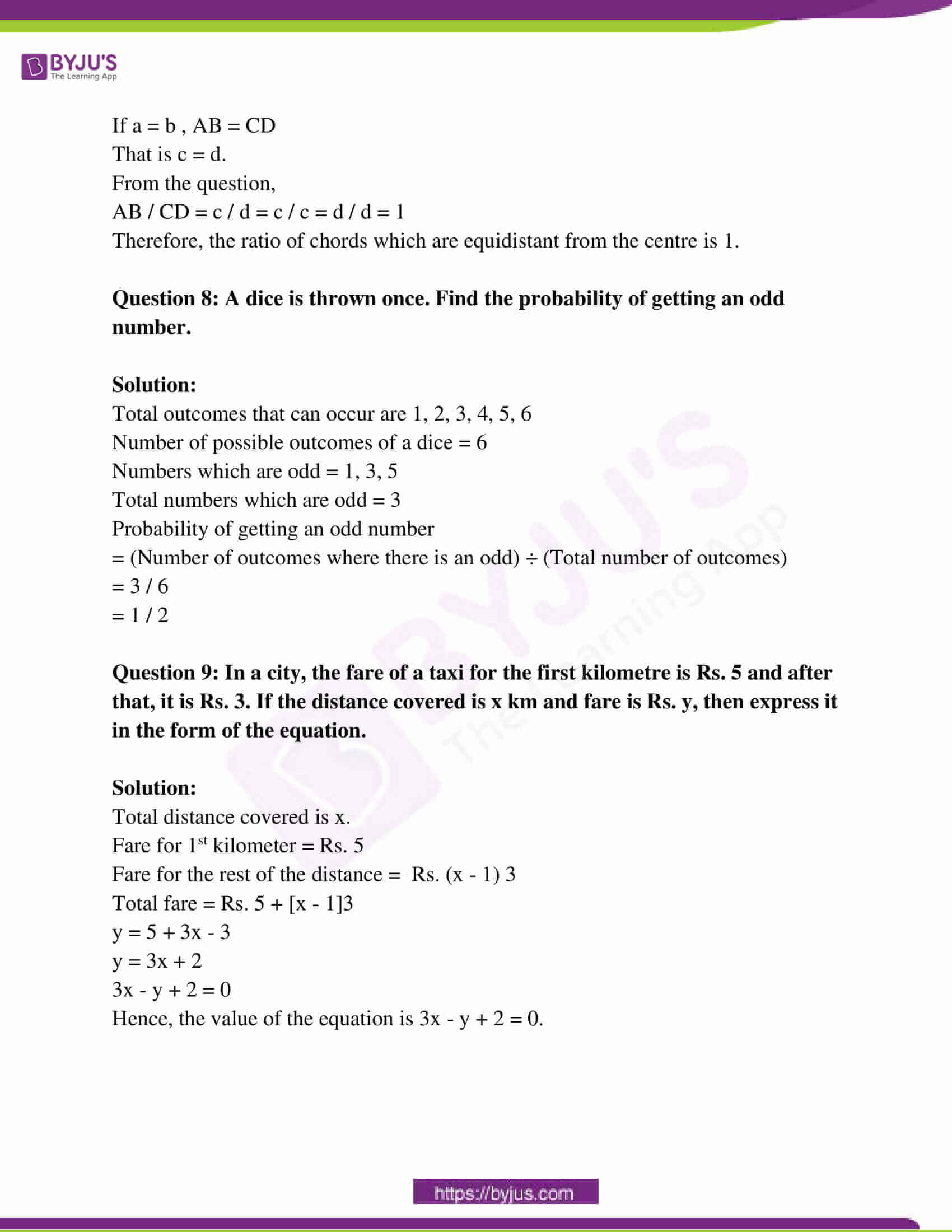 rajasthan board class 10 examination question paper sol march 2018 04