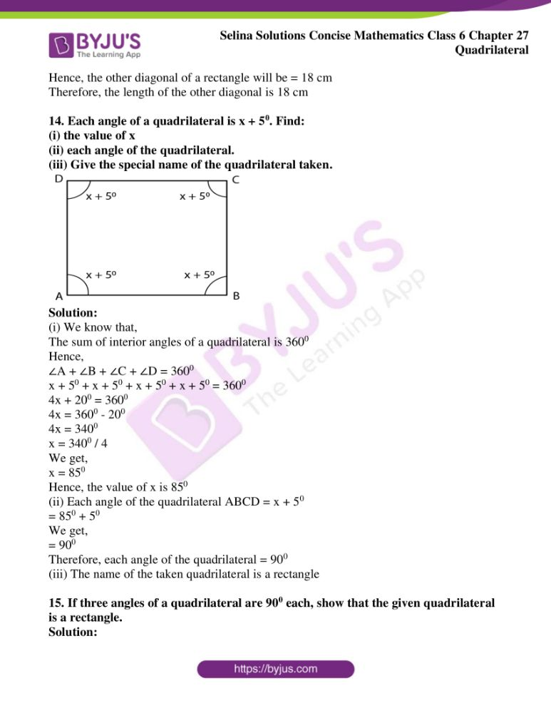 selina solutions for concise mathematics class 6 chapter 27 ex b 09
