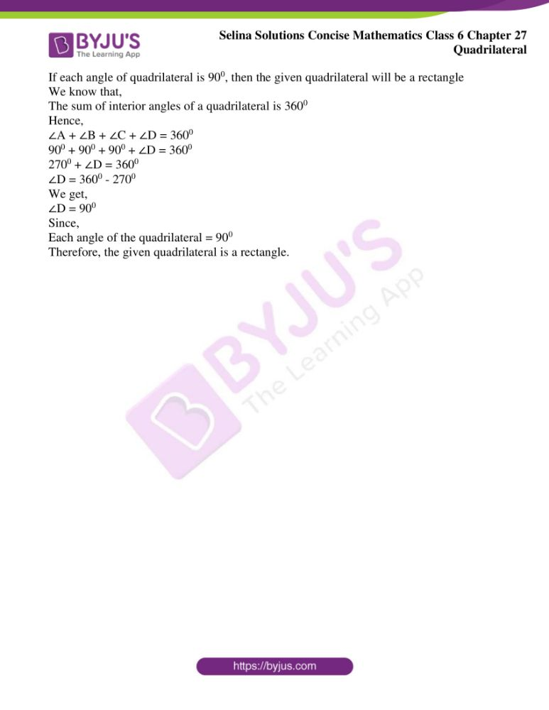 selina solutions for concise mathematics class 6 chapter 27 ex b 10
