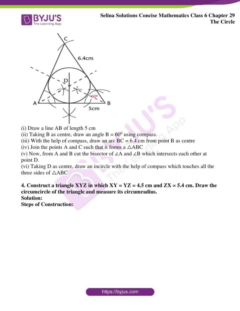 selina solutions for concise mathematics class 6 chapter 29 ex b 3