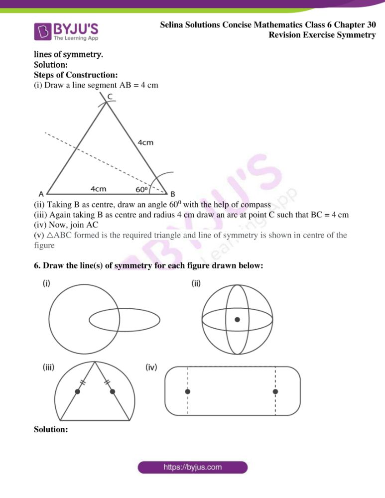 selina solutions for concise mathematics class 6 chapter 30 05