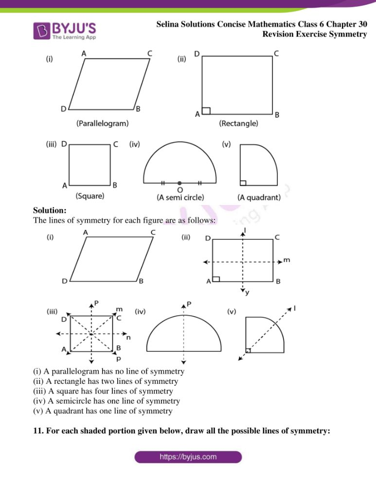 selina solutions for concise mathematics class 6 chapter 30 09