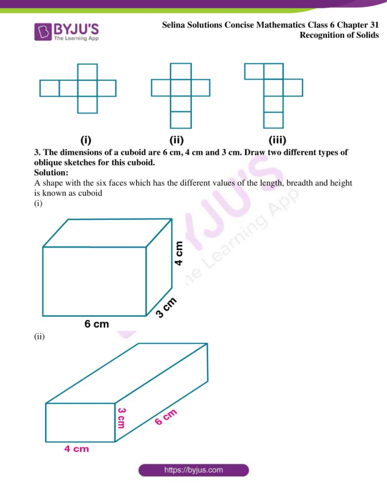 selina solutions for concise mathematics class 6 chapter 31 2