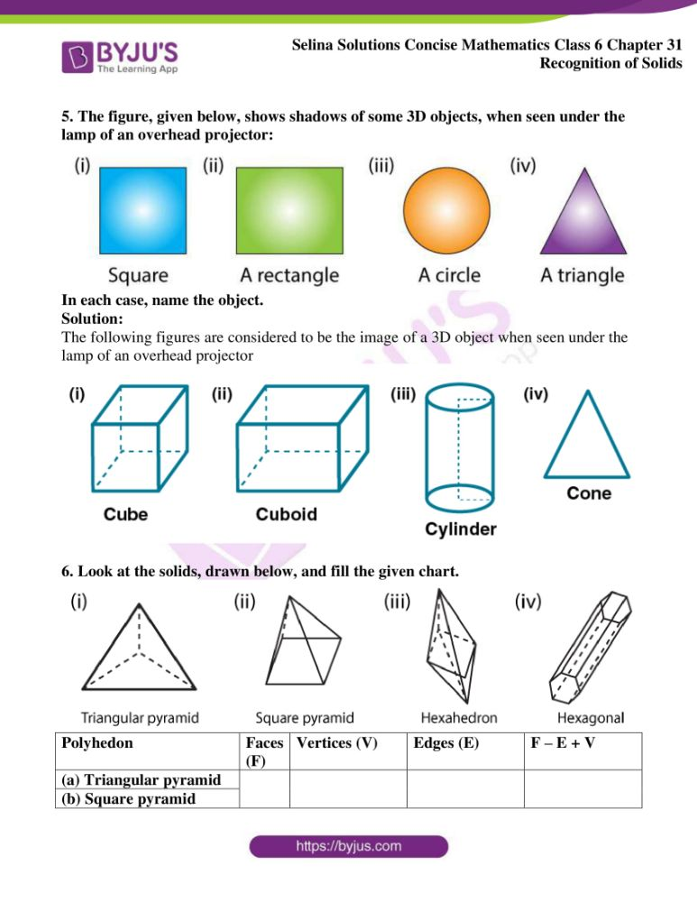 selina solutions for concise mathematics class 6 chapter 31 4