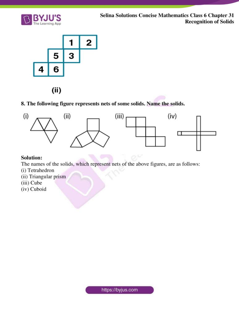 selina solutions for concise mathematics class 6 chapter 31 7