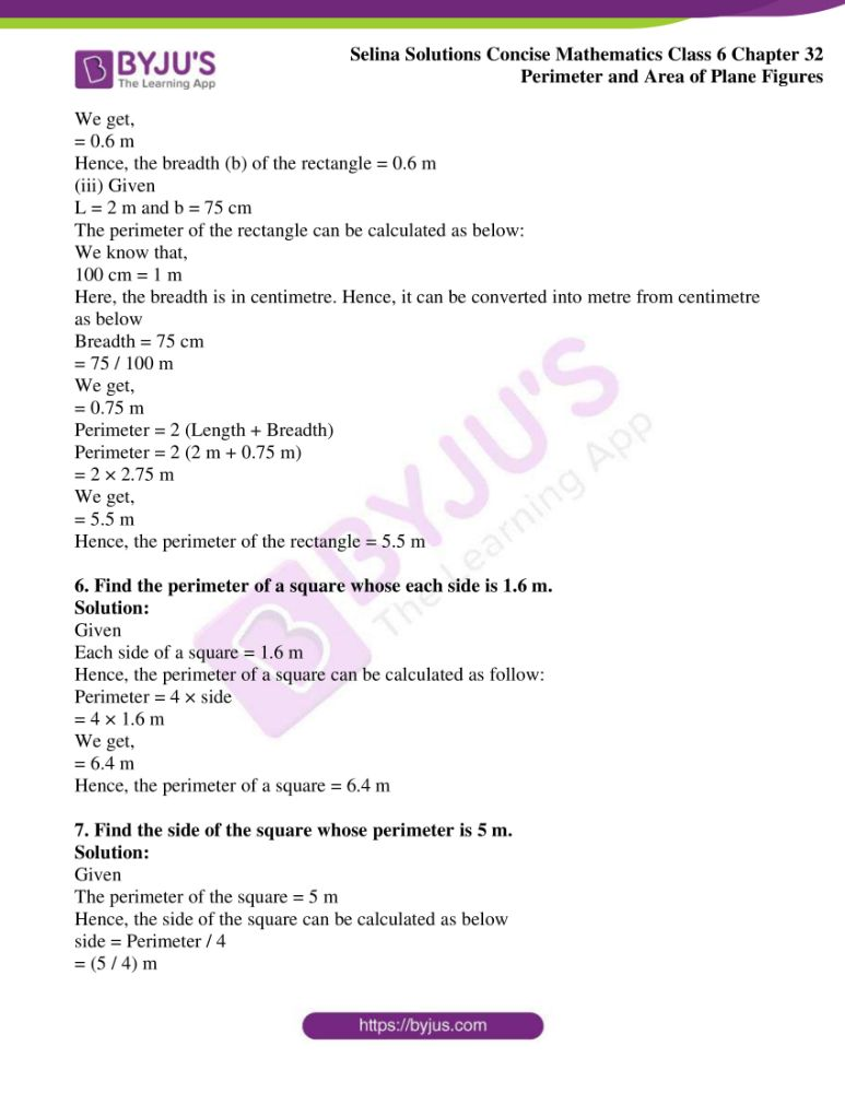 selina solutions for concise mathematics class 6 chapter 32 ex a 05