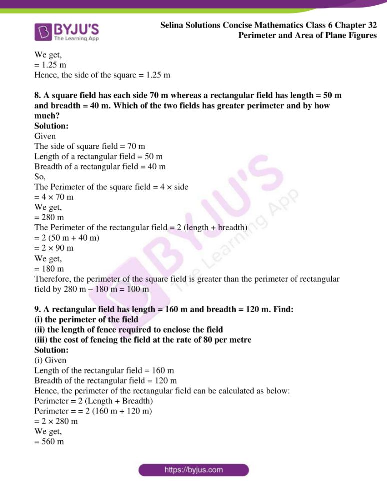 selina solutions for concise mathematics class 6 chapter 32 ex a 06